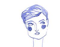 Doodle: Paris Girls