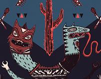LUCHADORES Postcard Exhibition