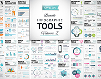 Infographic Tools for Graphic Designers Vol. 2