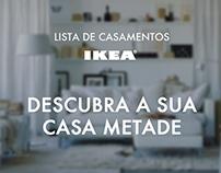 Lista de casamentos IKEA - Web app