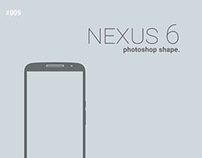 Nexus 6 photoshop shape