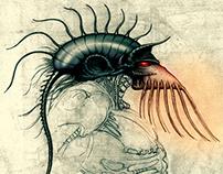 Leftraro The Movie: Centaur Creature Design