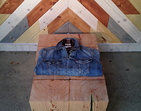 Levi's California Collection Display at HausOfStrauss