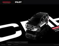 Honda Pilot Russia Promo Site