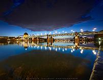 Toulouse et la Garonne.