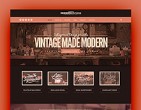 Modern Vintage Wordpress Theme