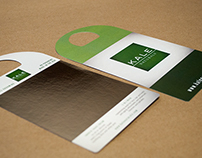 Kale Naturals Product Hang Card