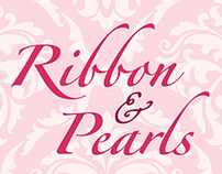 Ribbon & Pearl Business Card