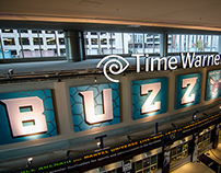 Charlotte Hornets, Buzz City Arena Signage