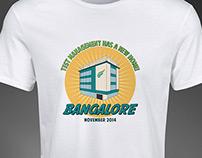 T-Shirt Design for Zephyr - Bangalore Building