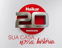 Honda Haikar - 20 anos