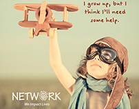 "Network ""Grow Up"" Ad #1"