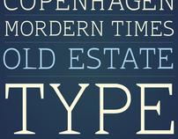 Old Estate - typeface
