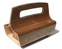 Bentwood Handbag - It's all wood!