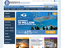 Insider's Homepage Redesign