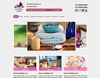 Web Site Art Estética e Clínica