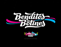 Benditos Botines - Puma - Lettering