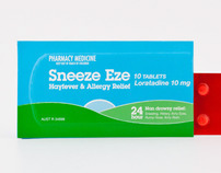 Sneeze Eze - Southern Cross Packaging Awards