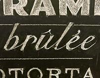 Blanch Blackboard Lettering