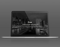 Free Macbook Screen Mockup