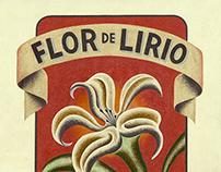 Flor de Lirio Poster Design