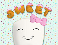 Sweet Tooth Illustration - Squibble Design