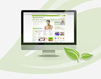 Natural Remedies Herbal Store   Website Design
