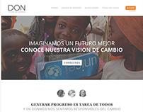 HéroesDonweb | Maquetación