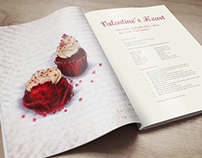 Editorial | Illustrated Recipe Magazine | Passion
