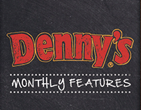 Denny's LTO Menu covers