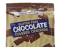 Yehuda Gluten Free Chocolate Covered Crackers
