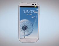 3D Modelling - Samsung Galaxy S3