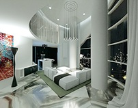 Apartment on the top floor