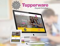 Tupperware Zayed October Website