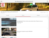 Taxi Albertville Di Tullio sur YouTube et Dailymotion.