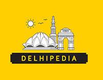 Delhipedia - Branding, Icons & Promotion