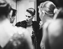 Serbia Fashion Week Autumn-Winter 2014. BACKSTAGE