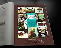Lilies Restaurant & Cafe_Magazine Advert