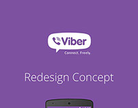 Viber Redesign Concept