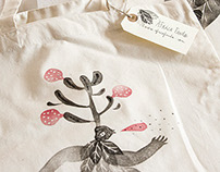 TOTE BAGS on my shop online
