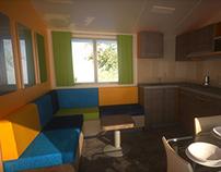 Shelbox Mobile Home - Interior Cmf Study