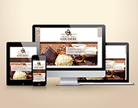 Responsive website design: Chocolaterie COUDERC