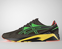 3D Asics Kayano & PackerShoes
