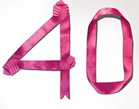 ExxonMobil Greeting Ad for QP 40th Anniversary