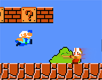 DOTA 2 in Super Mario Bros.