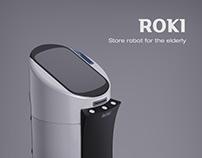 ROKI - Store robot for the elderly