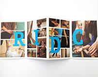 Création dépliant - RIDC - Graphiste Paris