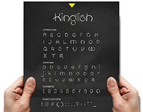 The Kinglish Font
