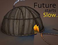 Future starts slow