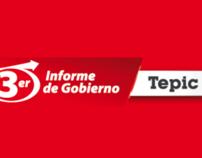 3er Informe de Gobierno Ayuntamiento de Tepic